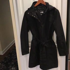 NorthFace belted raincoat
